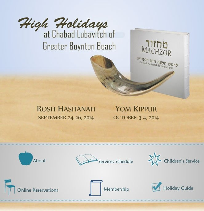 Chabad Org High Holiday Inspiration: Chabad-Lubavitch Of Greater Boynton